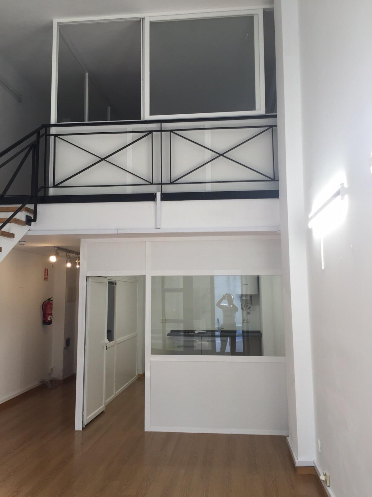 reformando un loft en c/ Albasanz