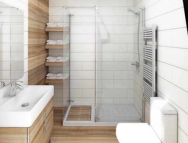 Decoracion Baño Grande:Reformar tu baño pequeño nunca había sido tan fácil