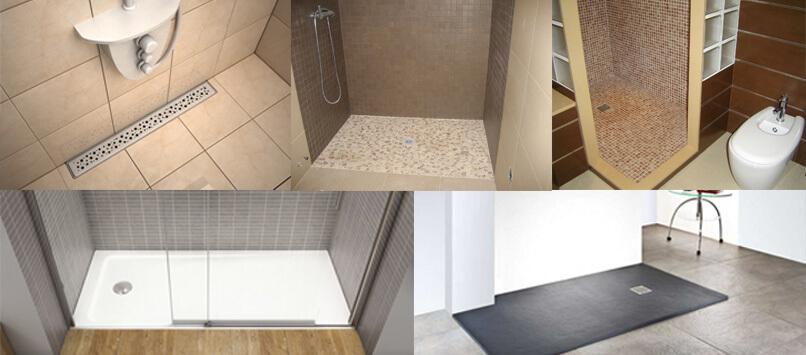 Ducha de obra plato de ducha instalaci n ventajas tipos y m s - Como instalar un plato de ducha acrilico ...