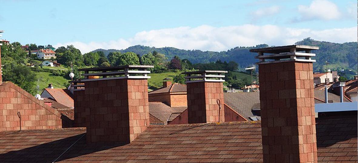 chimeneas rusticas en casa