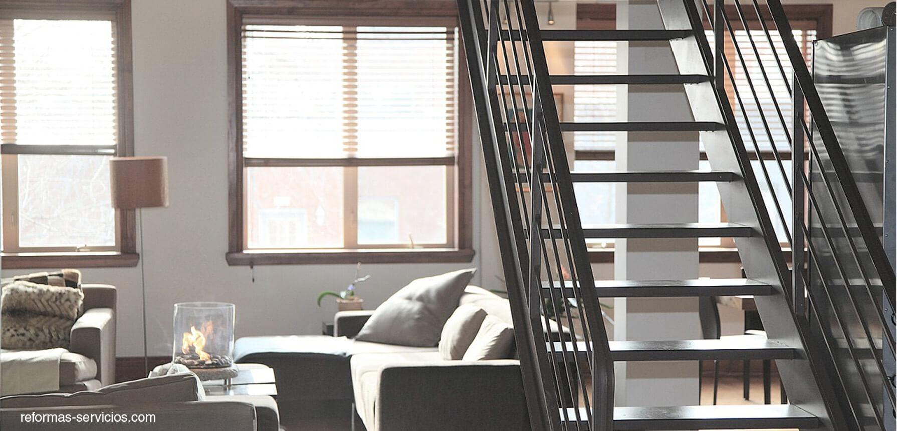 escaleras rusticas clasicas