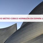Precio metro cúbico hormigón en España 2016