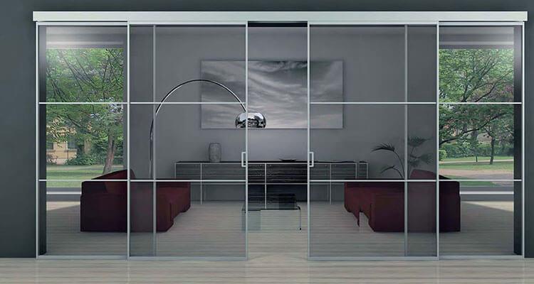 Puertas empotradas - Puertas correderas de cristal empotradas ...