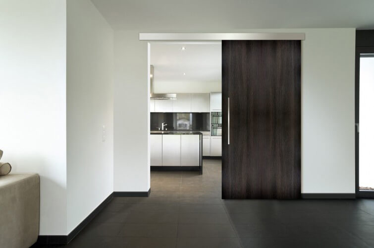 Todo sobre las puertas correderas empotradas - Sistemas de puertas correderas interiores ...