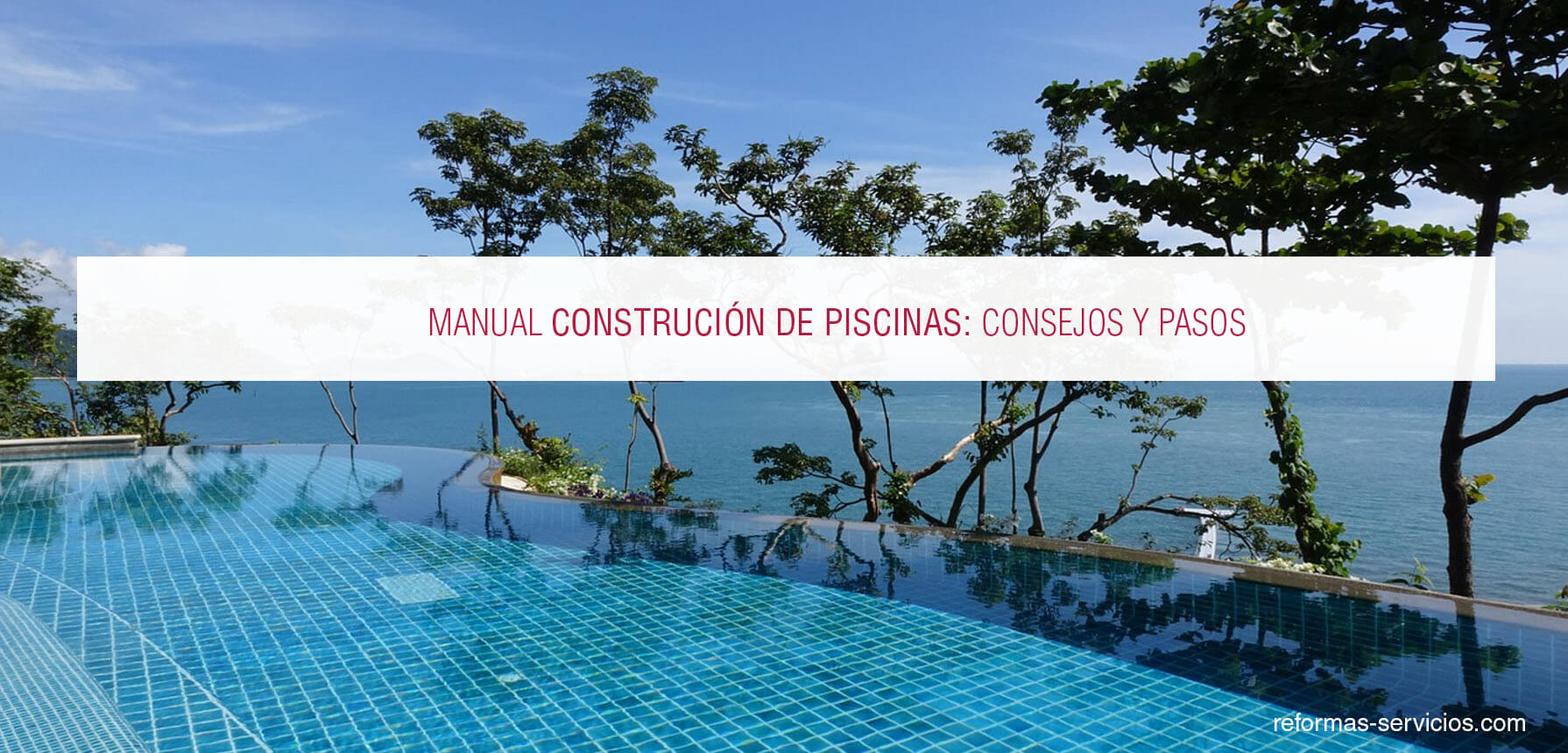 Construcci n de piscinas for Manual de construccion de piscinas pdf