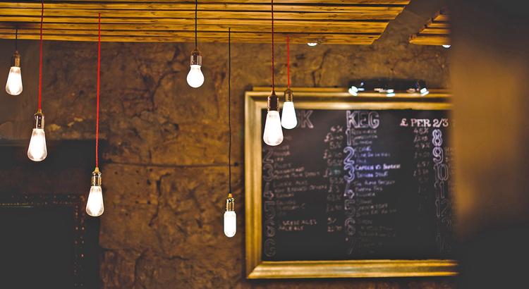 lamparas para pasillos