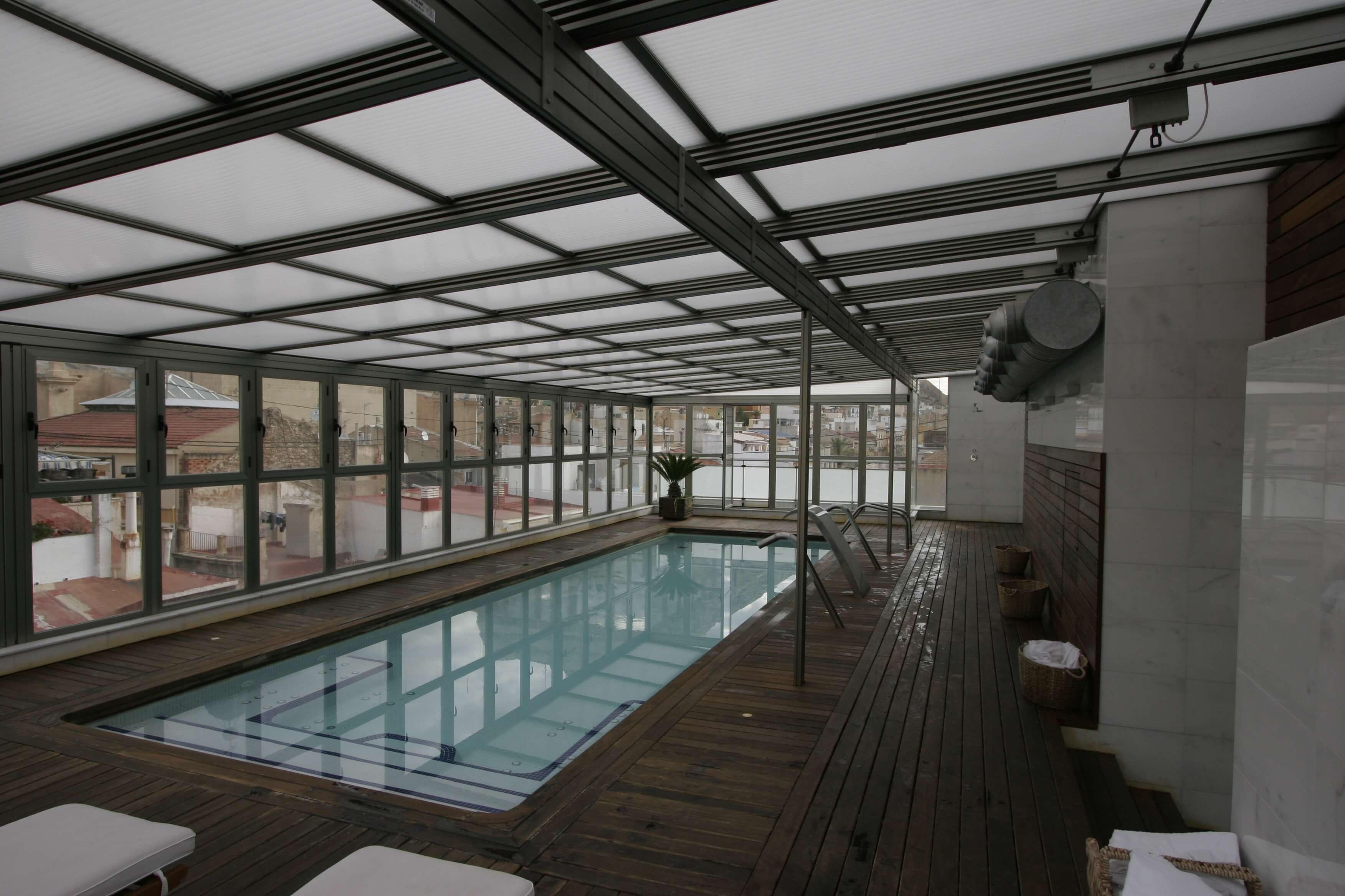 Los techos m viles caracter sticas usos y ventajas for Viviendas sobre terrazas
