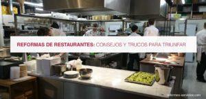 reformas de restaurantes