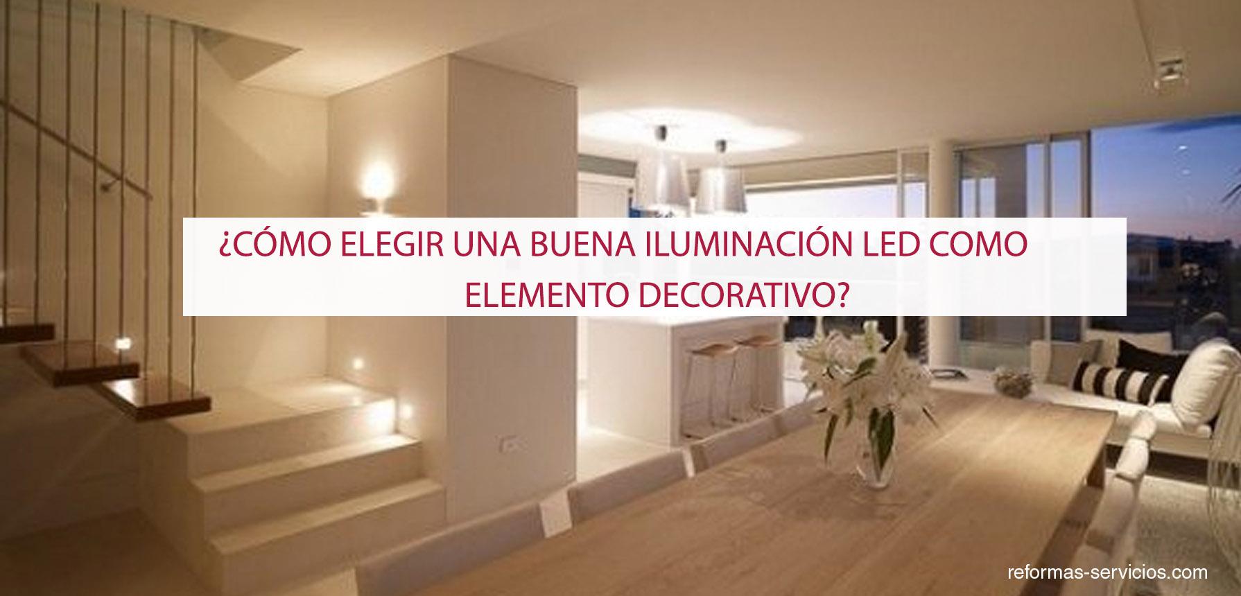 Iluminaci n led for Decoracion led hogar