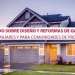Todo sobre diseño y reformas de garajes unifamiliares y para comunidades de propietarios