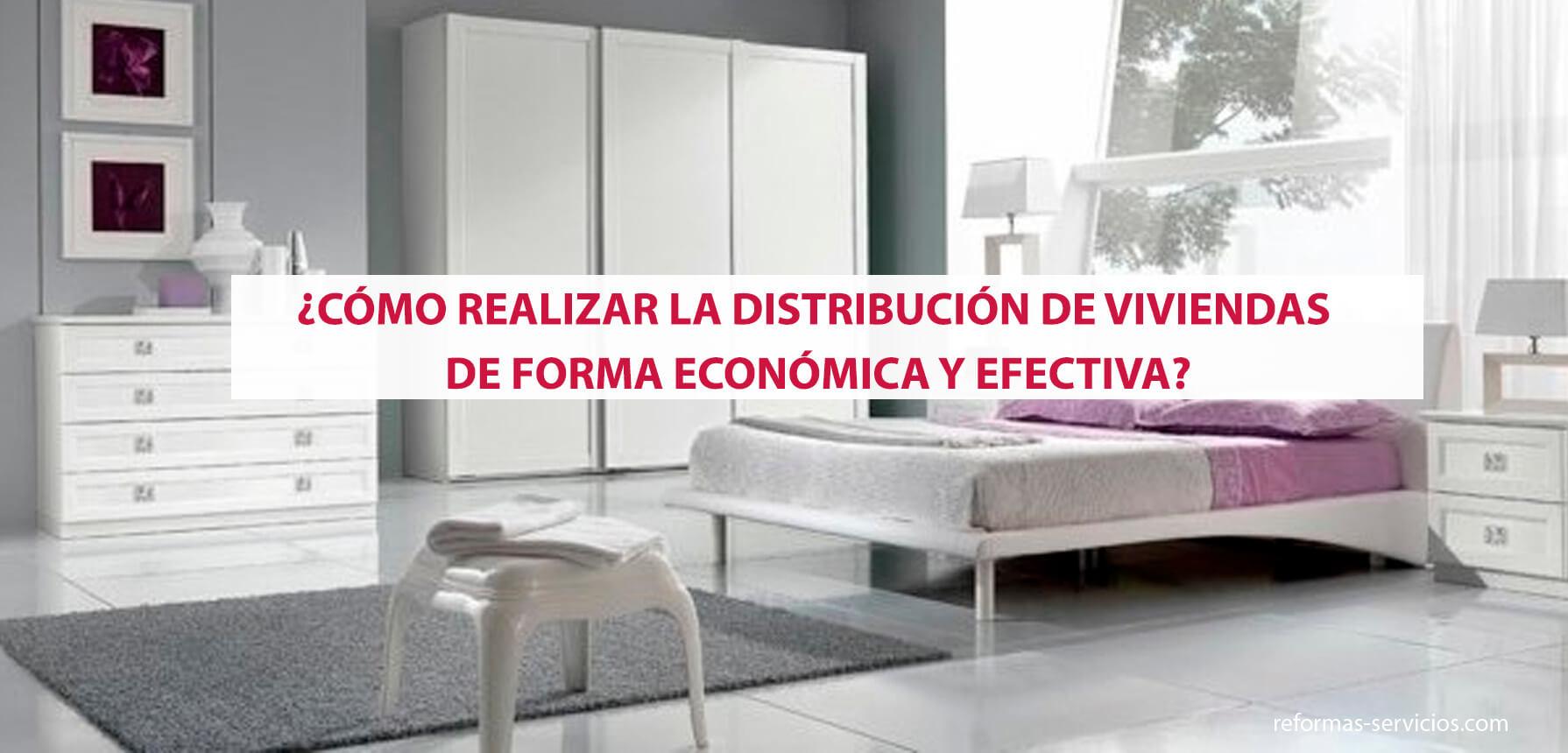 distribución de viviendas